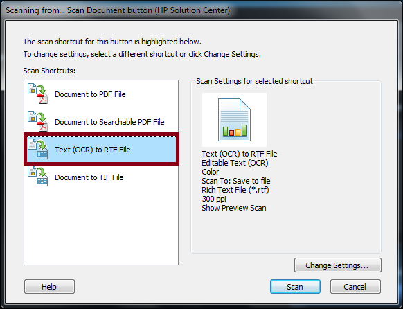 how to edit a scanned document in word 2010