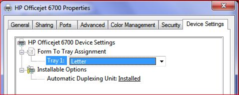 Solved How Do I Get My Officejet 6700 Premium To Print