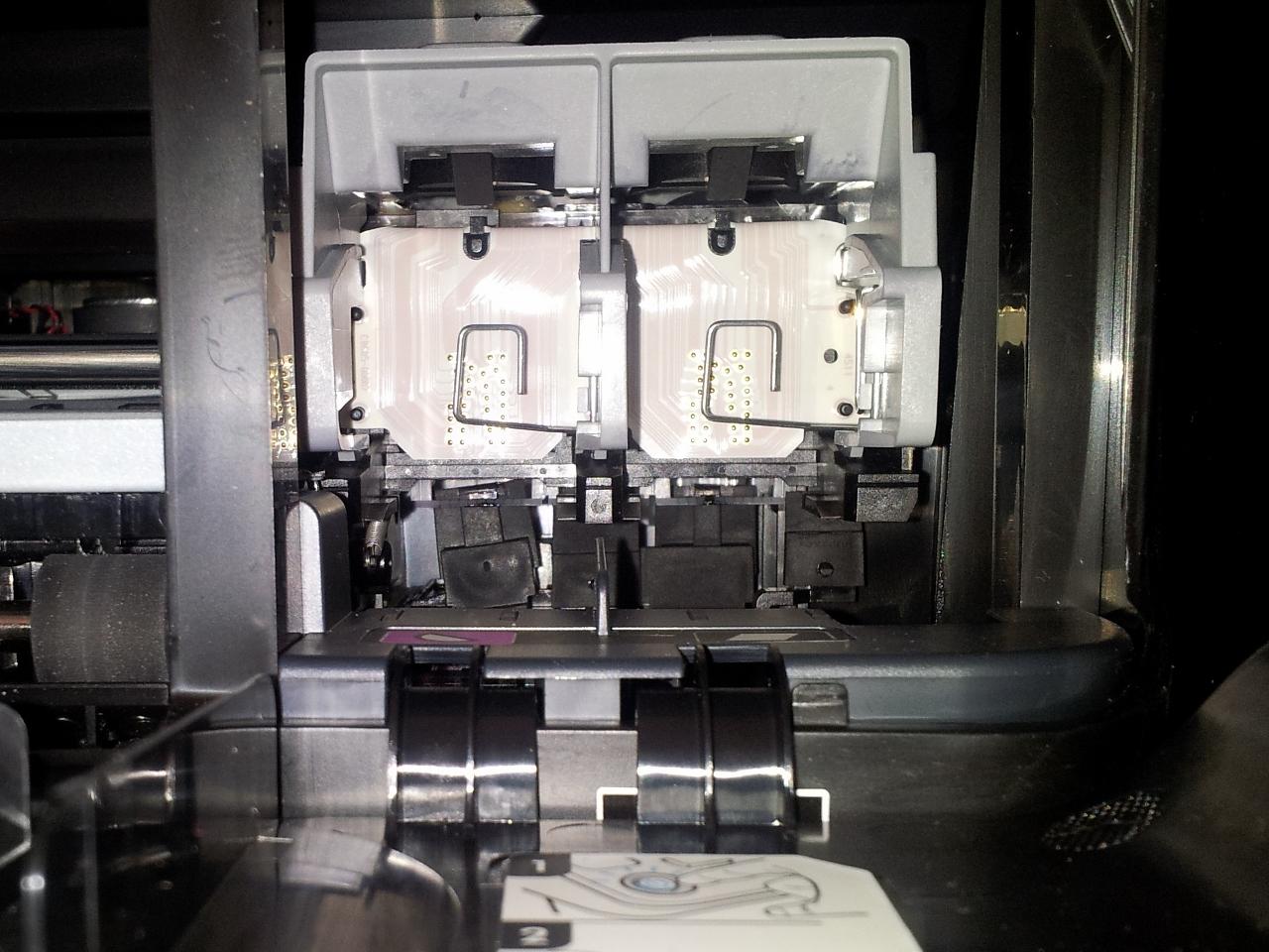 Hp officejet 4500, 4575 printers replacing ink cartridges | hp.