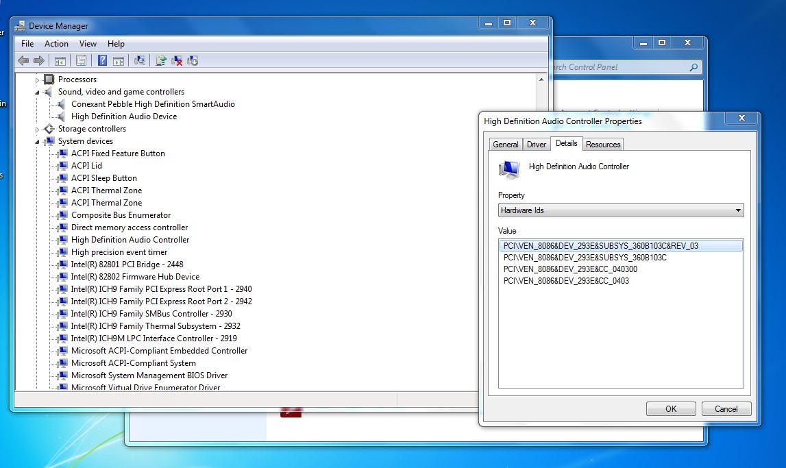 HP G6000 CTO Notebook Conexant HD SmartAudio Driver Download