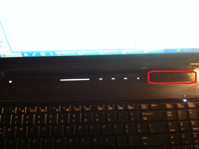 how to turn on hp quick launch buttons