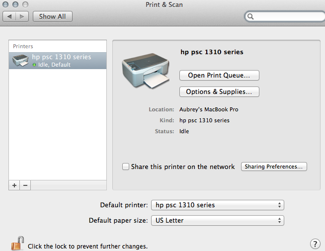 Hp psc 2355 printer