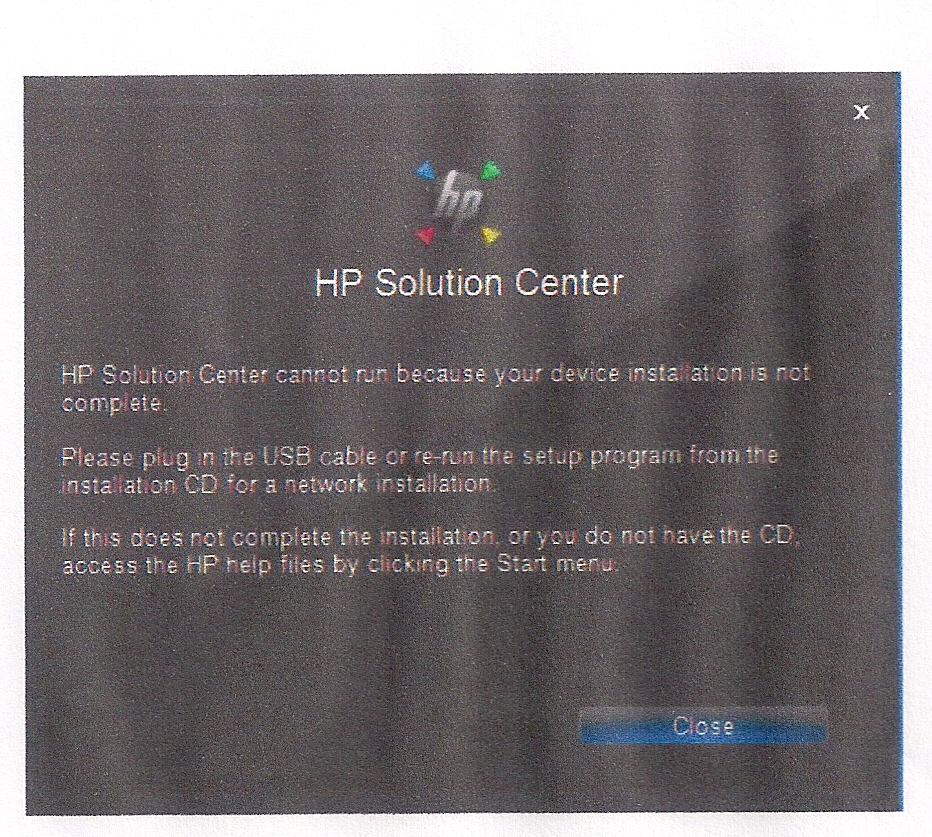 how to add a printer to hp solution center