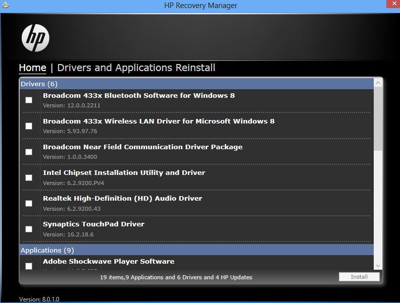 HP ENVY x2 11-g012nr Broadcom Bluetooth Drivers Download Free