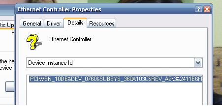 Solved: HP Compaq Presario CQ50-108CA - Ethernet Controller