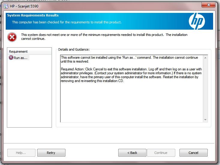scanjet 5550c windows 7 driver