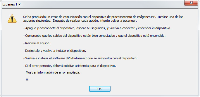 Solved: Unable to scan because another program has control of the HP