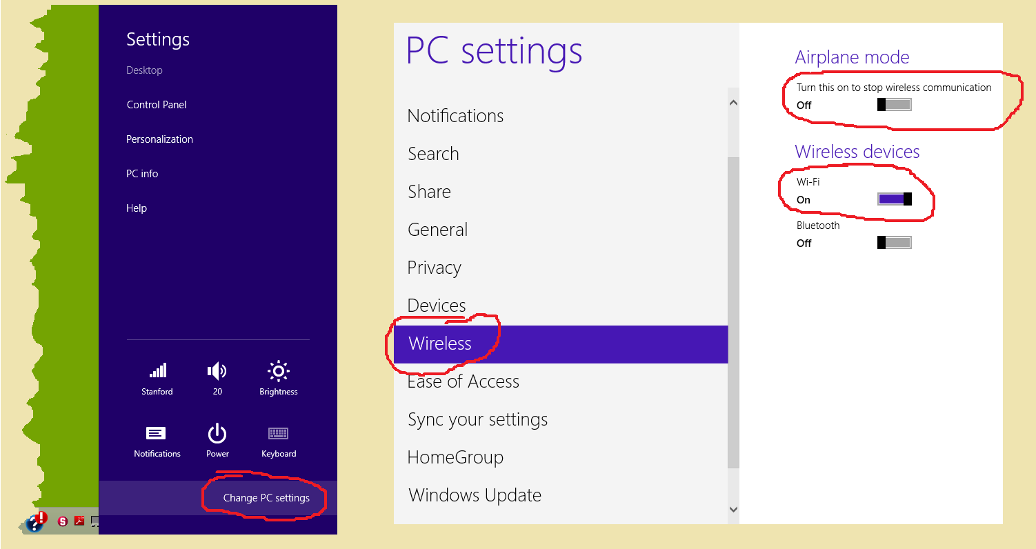 Wireless connections not working on Windows 8 - HP Support