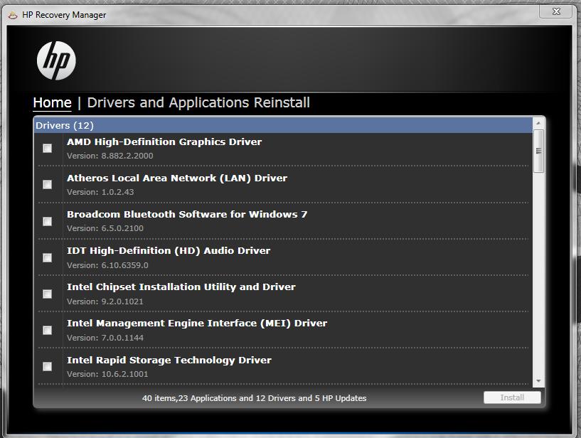 Ноутбук hp pavilion g6-2200sr. Скачать драйвера для windows 7.