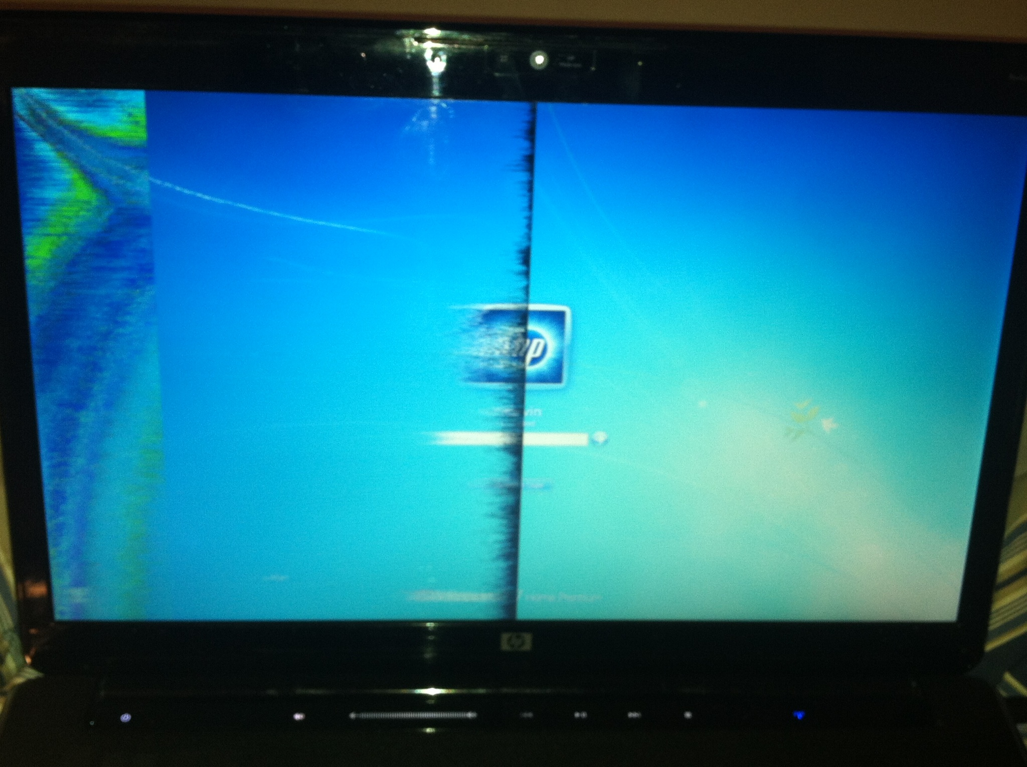 Half Blurred Fuzzy Screen Hp Pavilion Dv7 Hp Support