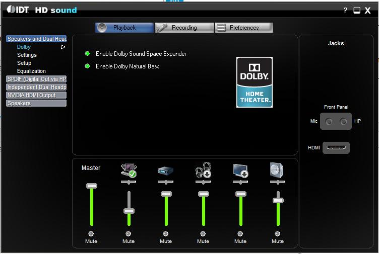 IDT Audio & Bluetooth - HP Support Community - 2480685