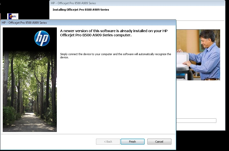 Scanner not found after new software install hp support.