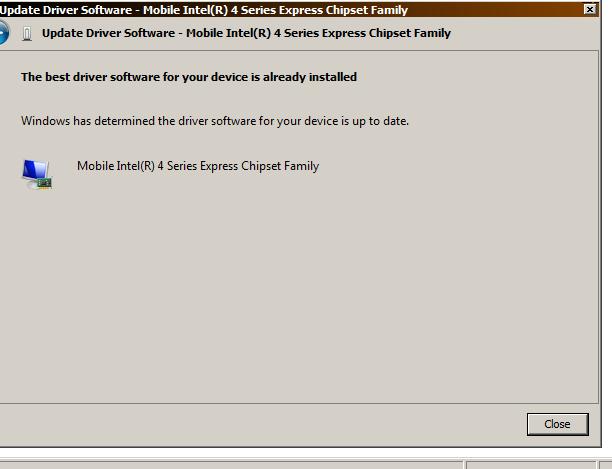 HP Mobile Intel 4 Series Express Chipset 64 BIT Driver