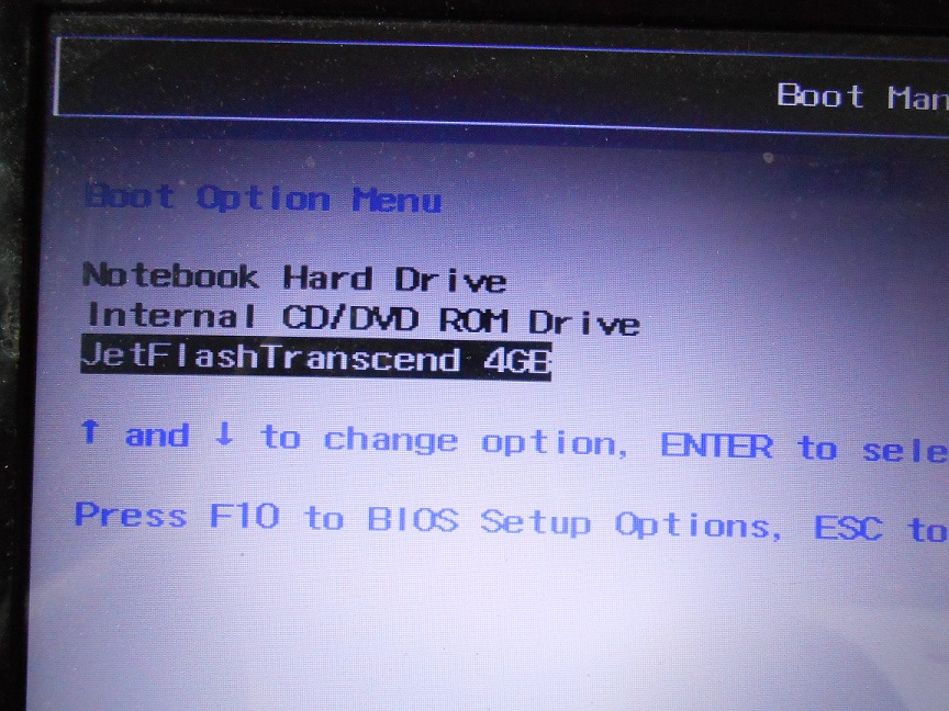 Hp dv6 6165tx bios doesn't show up an option to boot a win8