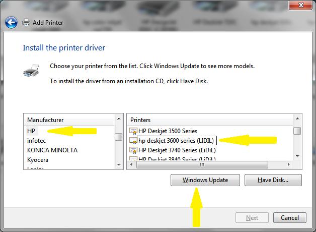 драйвер для hp 3650 скачать драйвер windows 7