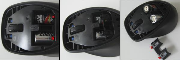 How to replace batteries in hp x4000 wireless mouse? - HP