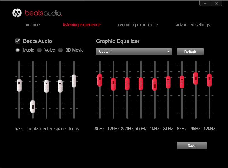 Beats audio для hp скачать.