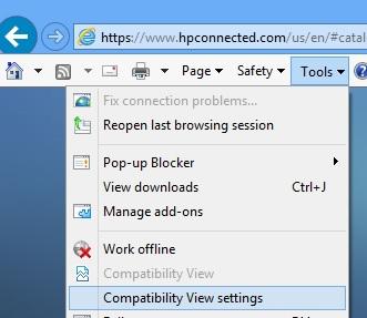 hpconnected com login