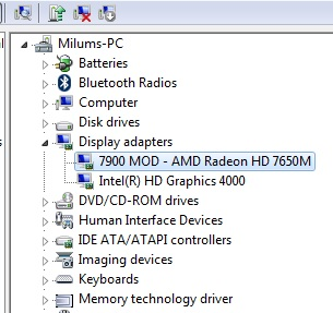Solved: Update: HP 4540s Graphics problem with AMD Radeon HD 7650M