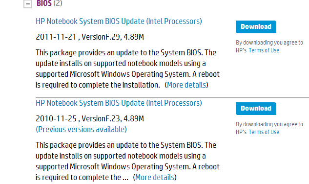 HP G70-246US Notebook Realtek Card Reader 64 Bit