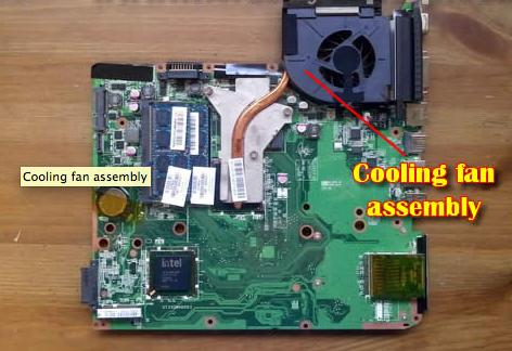 Please Check The Picture Power4Laptops Version 2 Replacement Laptop Fan with Heatsink for HP Pavilion dv6-2195et