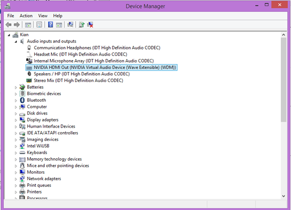 HP ENVY 23-d040ef TouchSmart IDT HD Audio Windows 7