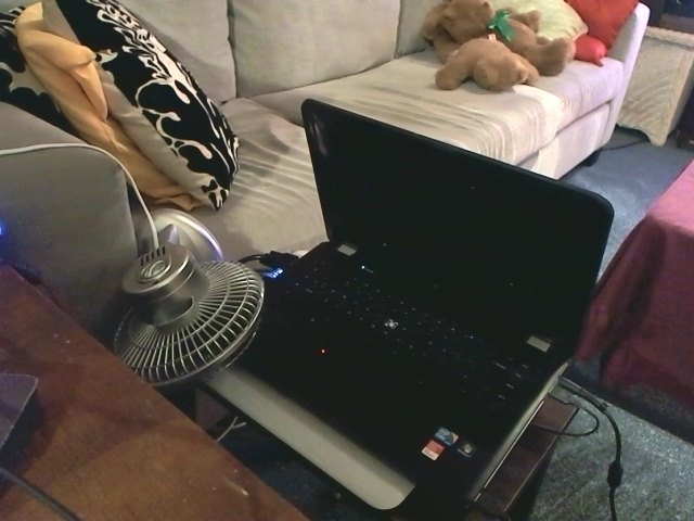 the house hold fan burning down the HP calories
