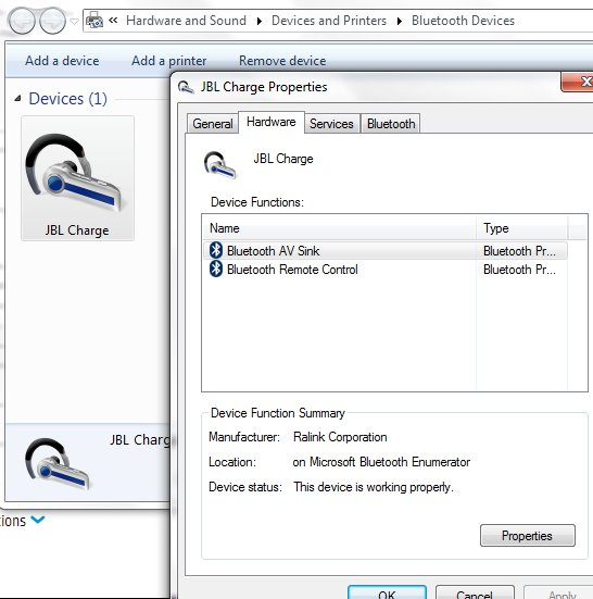 Драйвер для jbl charge 2 для windows 7 скачать