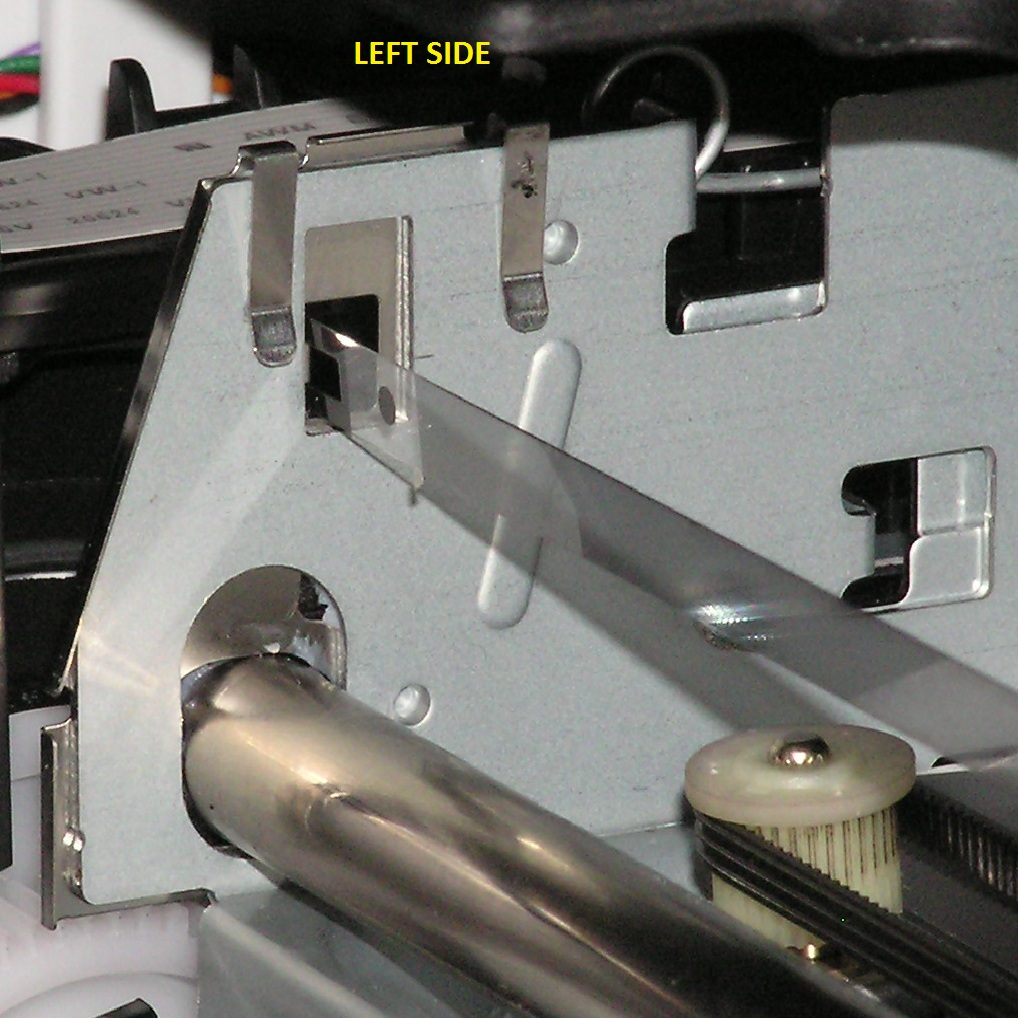 Installing an encoder strip hp deskjet