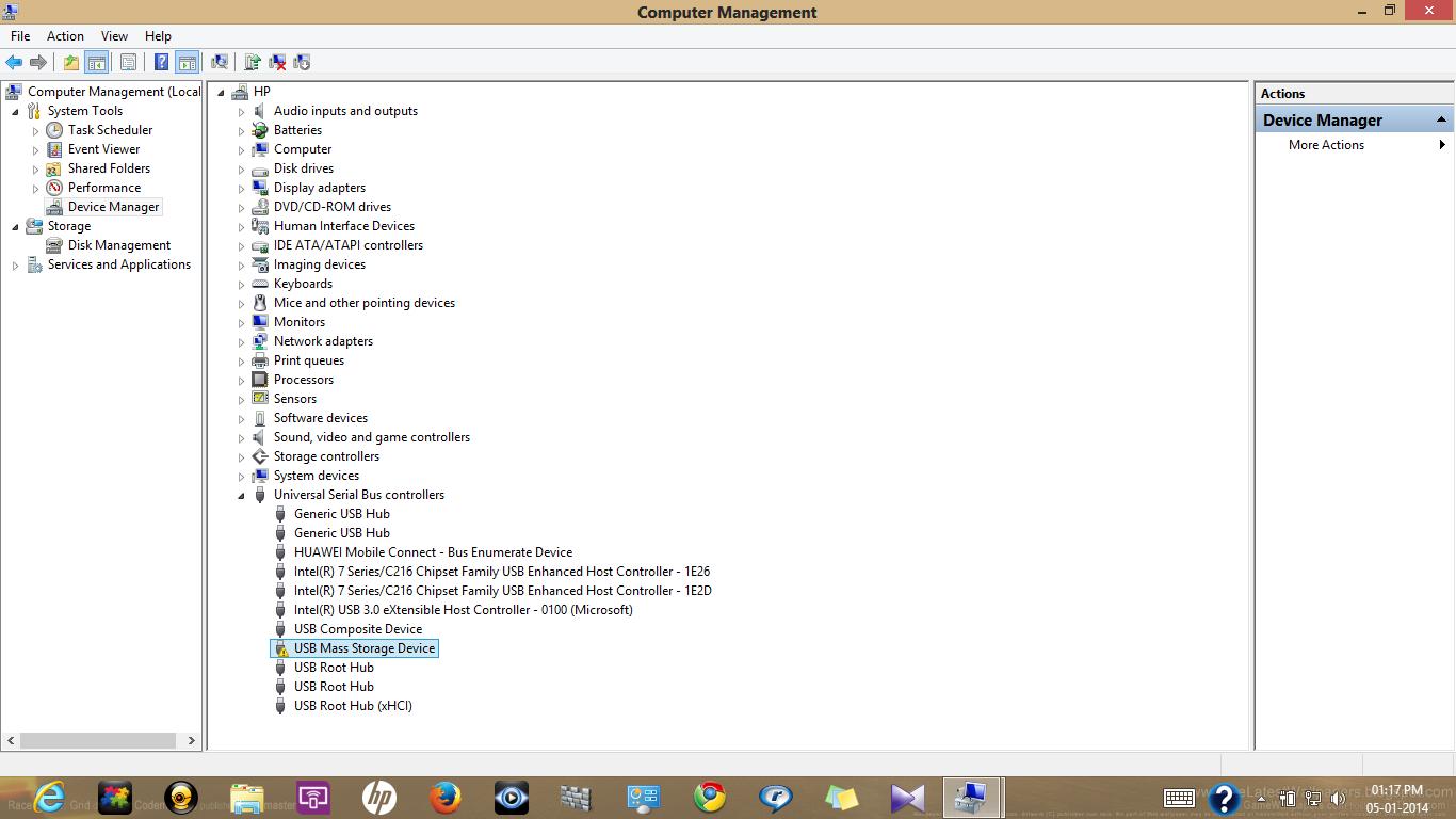 usb mass storage device driver windows 7