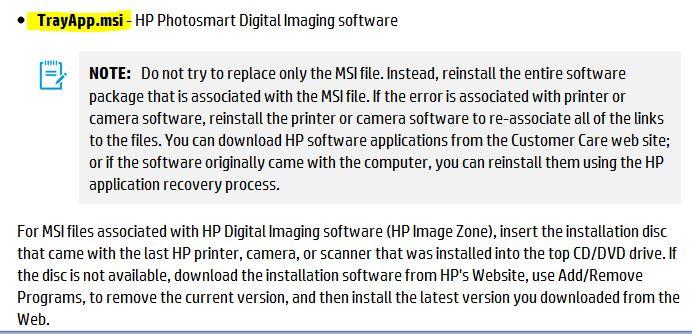 hp photosmart 5510 trayapp.msi - HP Support Community - 3296645