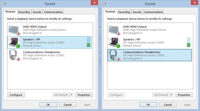 Headphone jack not functioning properly - Pavilion g6 2240sa