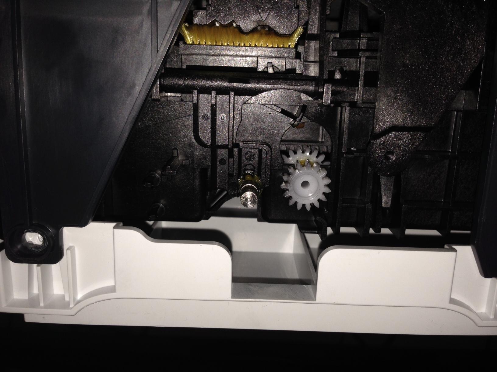 Broken Gear On Officejet J6480 - Hp Support Forum