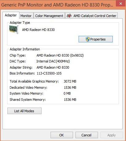 Amd Radeon Hd 8330 Драйвер Windows 7 64 Скачать - фото 8