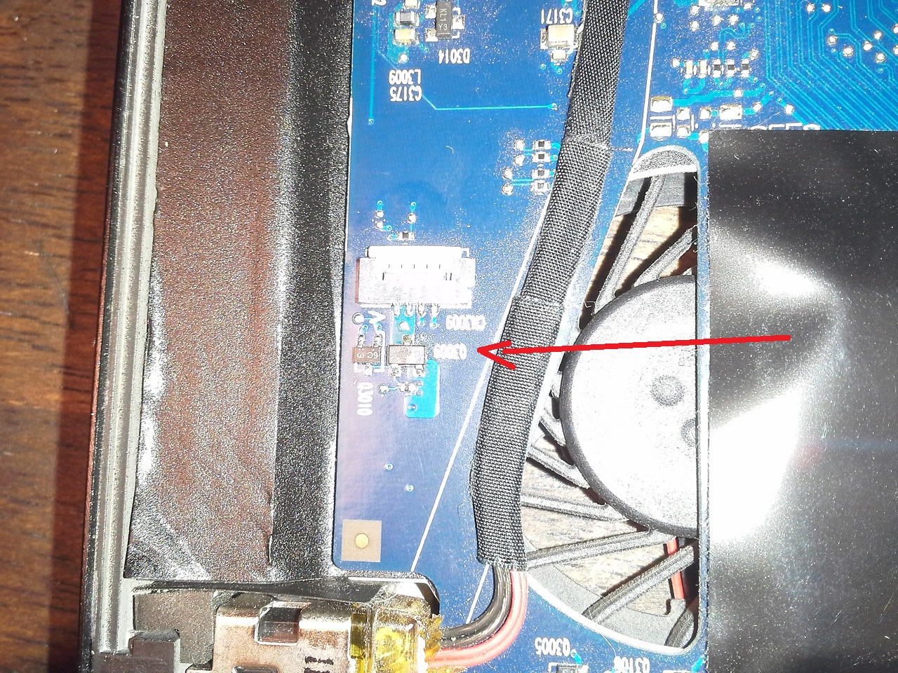 Keyboard Backlight Led Driver Circuit Power Transistor Ident Hp 2014 02 06 2140352