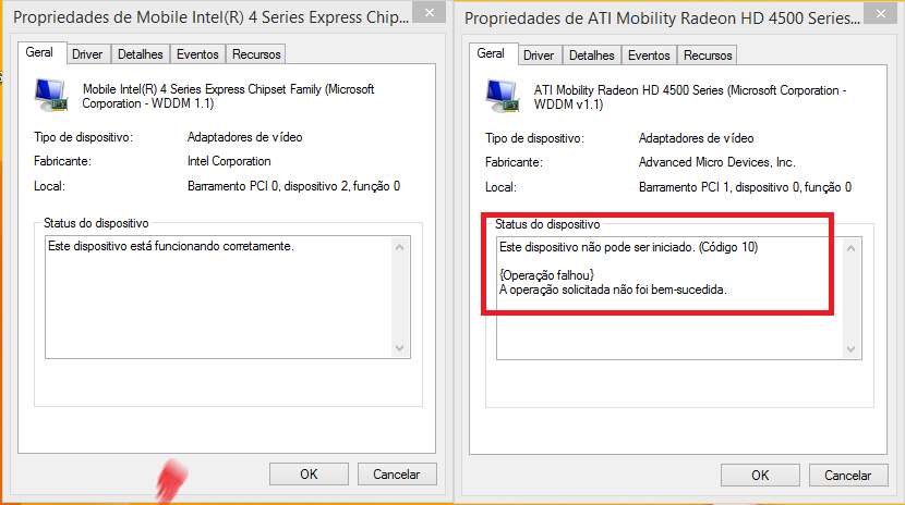 ati mobility radeon hd 4500 series driver update