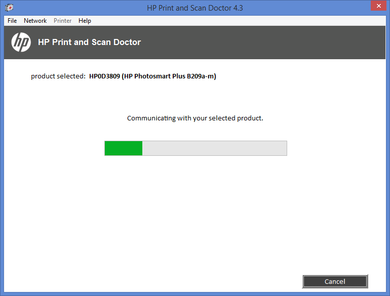 Cannot install HP Photosmart Plus B209 full feature drivers     - HP
