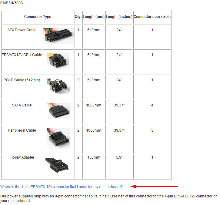 Guide for Selecting a Power Supply - Page 15 - HP Support Forum ...