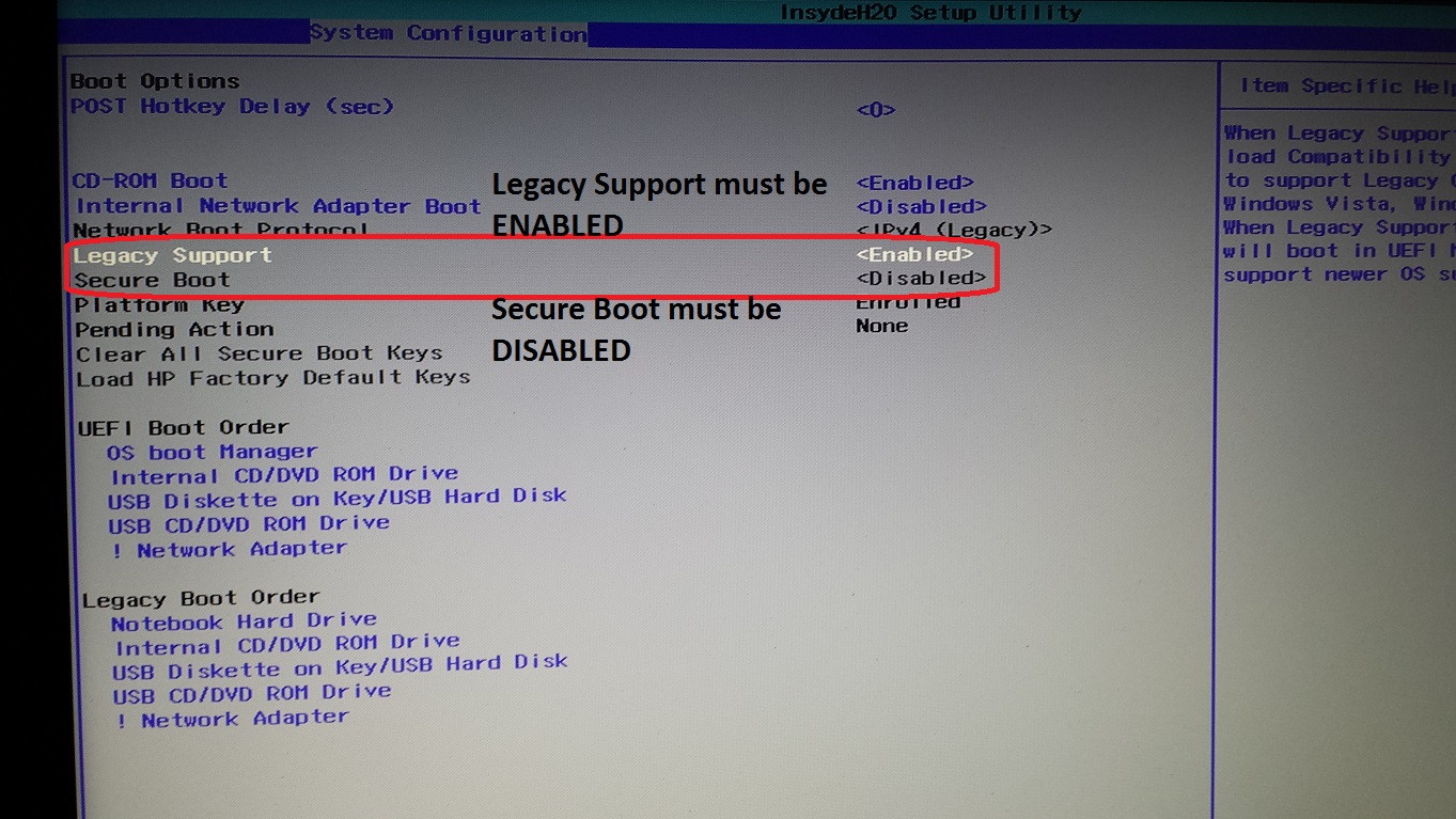 Win7 UEFI installation problem - HP Support Community - 5516132