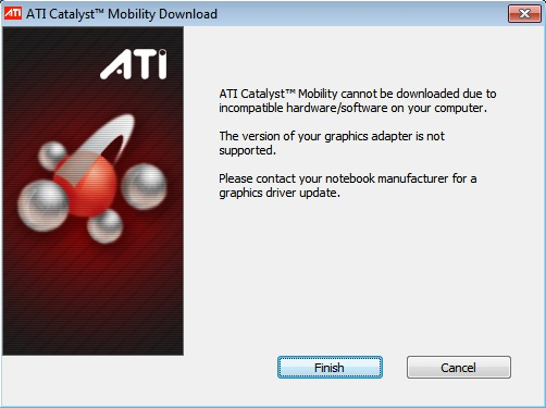 Amd 6470m is not installing on windows 10 printable version.