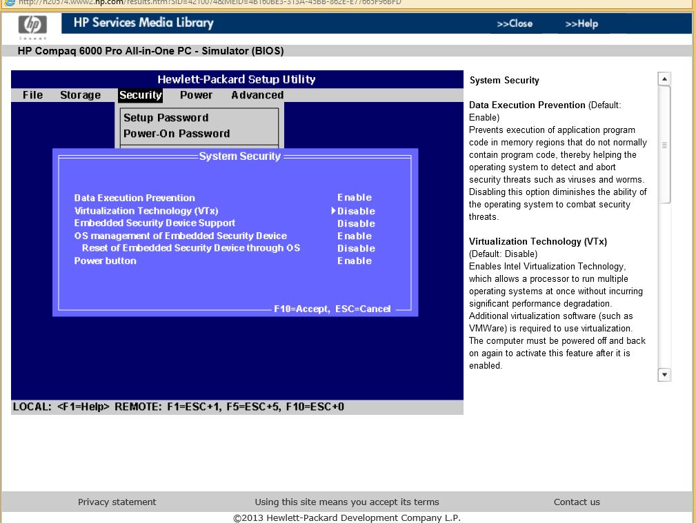 Solved: Virtualization on a HP 6000 Pro Desktop - HP Support