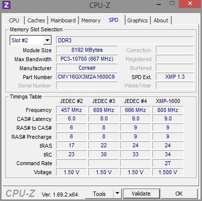 RAM - Enabling XMP Profiles on HP ENVY Phoenix 800-030qe CTO