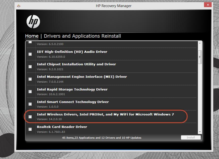 HP Envy 17-1001xx Notebook Realtek Card Reader Driver for Mac Download