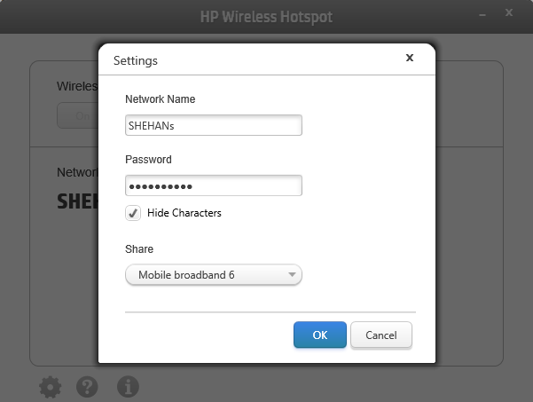 How to setup hotspot on hp laptop