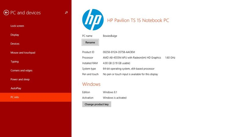 hp pavilion ts 15 notebook pc drivers