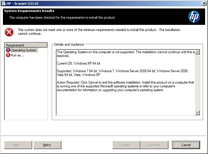hp scanjet g3110 driver download windows 7