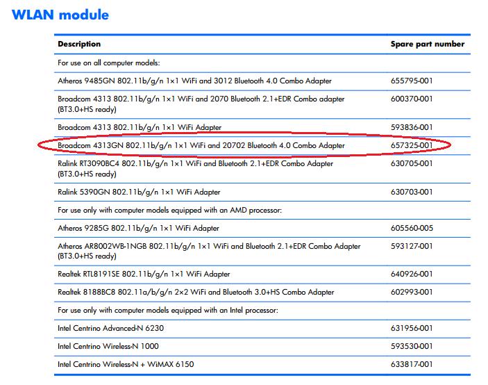 HP G62-343NR Notebook Ralink WLAN Drivers Mac