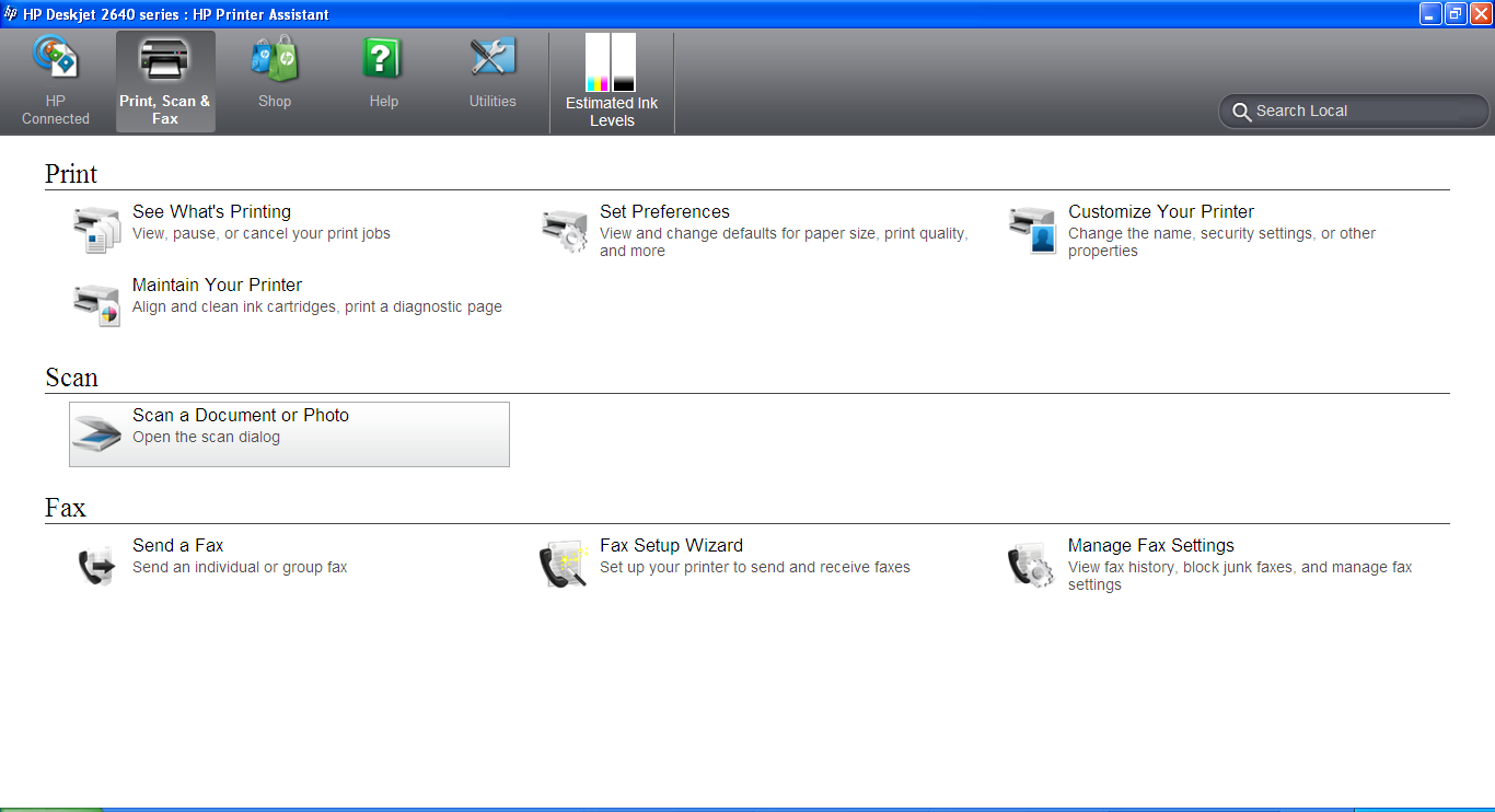 How To Scan: From The Printer Control Panel Hp Deskjet 2645 Hp Support  Forum 4115744