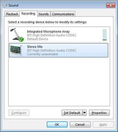 HP ENVY 23-d113a TouchSmart IDT HD Audio Windows 8
