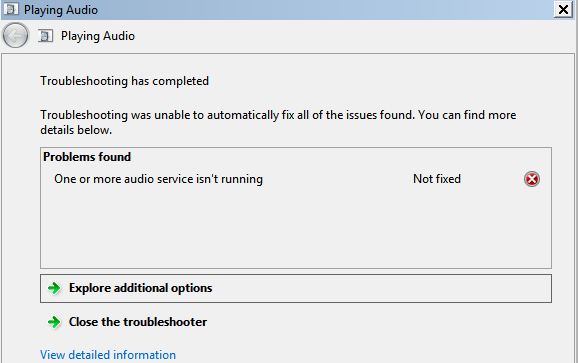 Solved: Troubleshooting Guide: Audio does not Work after a Certain P